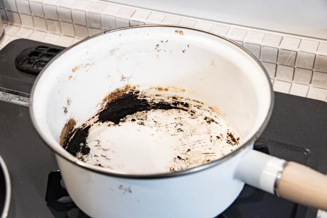 鍋の焦げつき