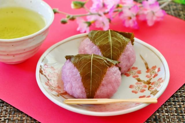 桜餅の道明寺