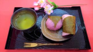 桜餅の長命寺と道明寺