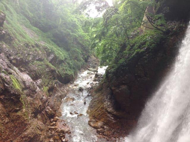 雷滝と松川