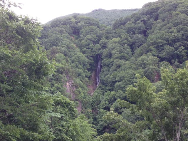 長野県高山村の八滝